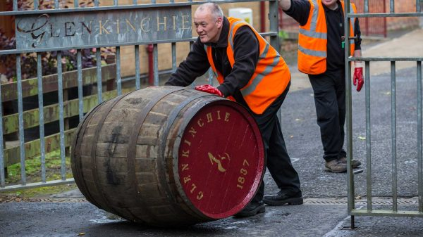 Diageo Glenkinchie Rolling Barrel