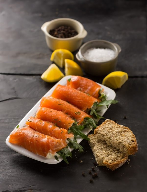 James Dickson and Sons Stuffed Salmon